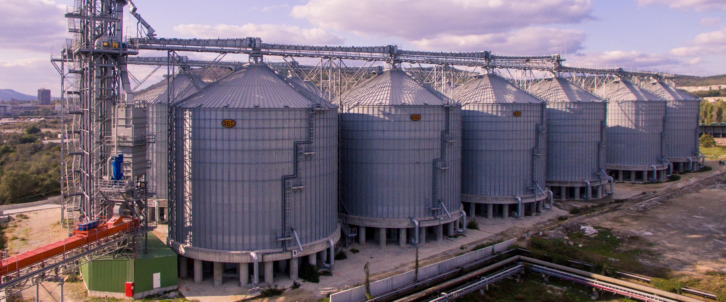 Складово стопанство за съхранение на зърно