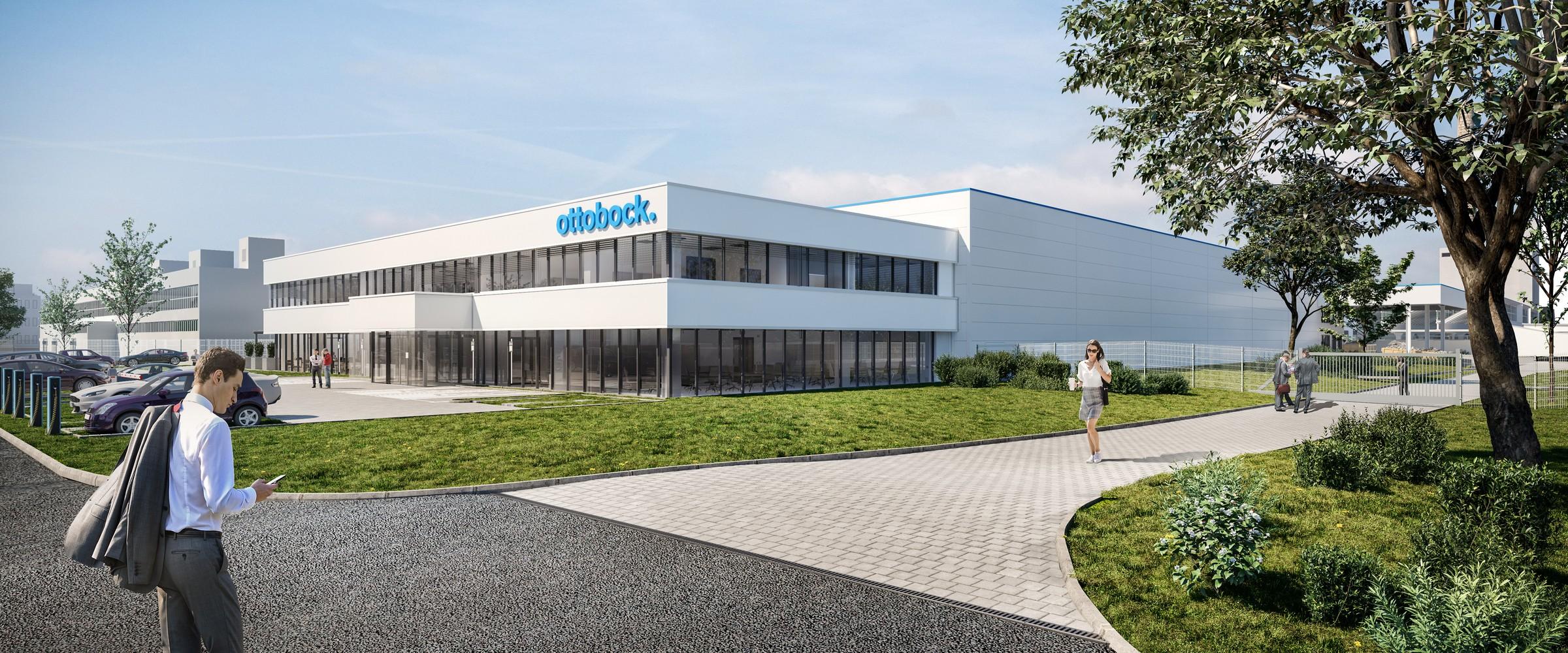 """""""Оттобок"""" започва строителството на своя нов завод в Благоевград"""