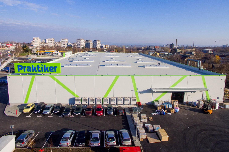 Construction Hypermarket Praktiker - Shumen
