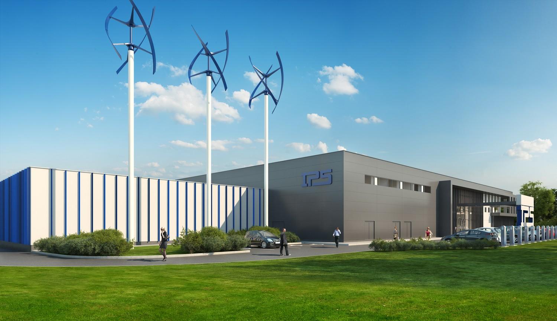 Завод за токозахранващи системи на International Power Supply - гр. Кърджали