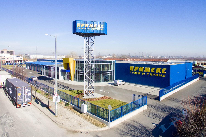 Reifen- und Servicezentrum von Primex - Plovdiv