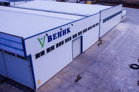 Разширение на склад за негорими строителни материали