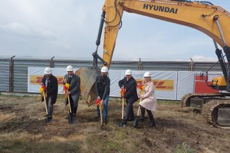 DHL Freight изгражда нова база в София