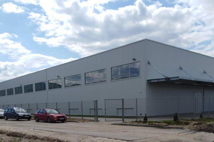 """Разширение на завод за авточасти на """"Вили Елбе"""" - Производствена част"""