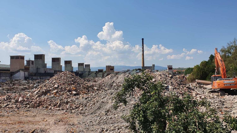 Оттобок Етап II - Събаряне на съществуващи сгради  -  Южна промишлена зона, гр. Благоевград
