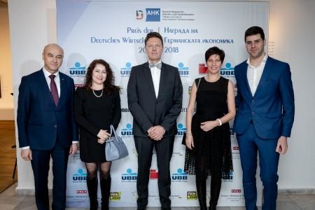 """""""Бараж Груп"""" ЕООД е сред водещите спонсори на събитието Награда на Германската икономика 2018 год."""